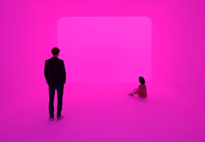 Lichtinstallation des renommierten Lichtkünstlers James Turrell