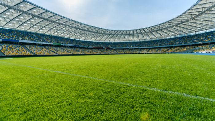 LED-Beleuchtung für WM-Rasen