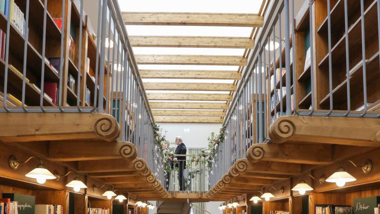 Kulturhaus Würth – Bibliothek