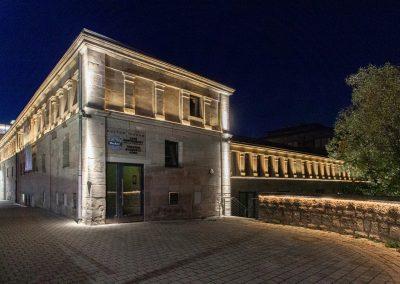 Kulturforum Fürth erhält neue Fassadenbeleuchtung